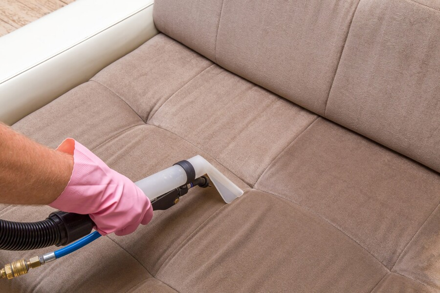 Upholstery cleaning by Procare Carpet & Upholstery Cleaning