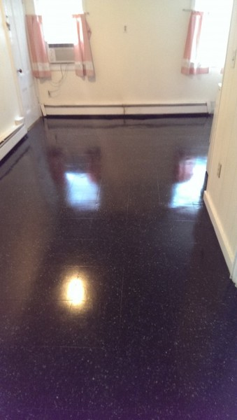 VCT tile strip and wax in Taunton, MA
