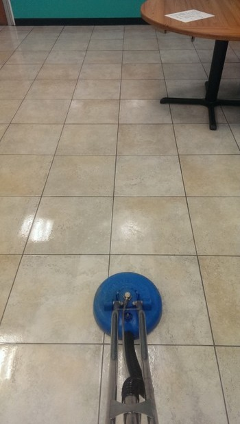 Tile and Grout Cleaning at YMCA Taunton, MA