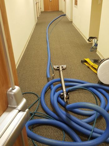 Commercial carpet cleaning in Walpole, MA